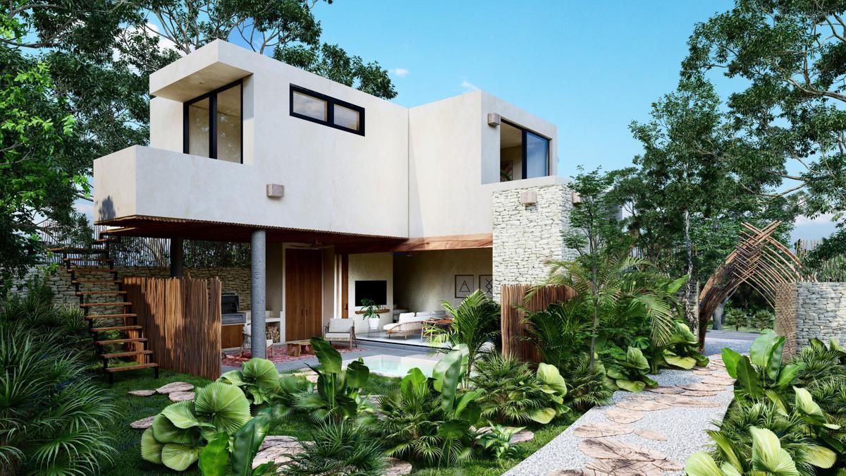 Foto Casa en Venta en  Tulum ,  Quintana Roo   ATMAN, CASAS 2 RECÁMARAS CON PISCINA EN TULUM