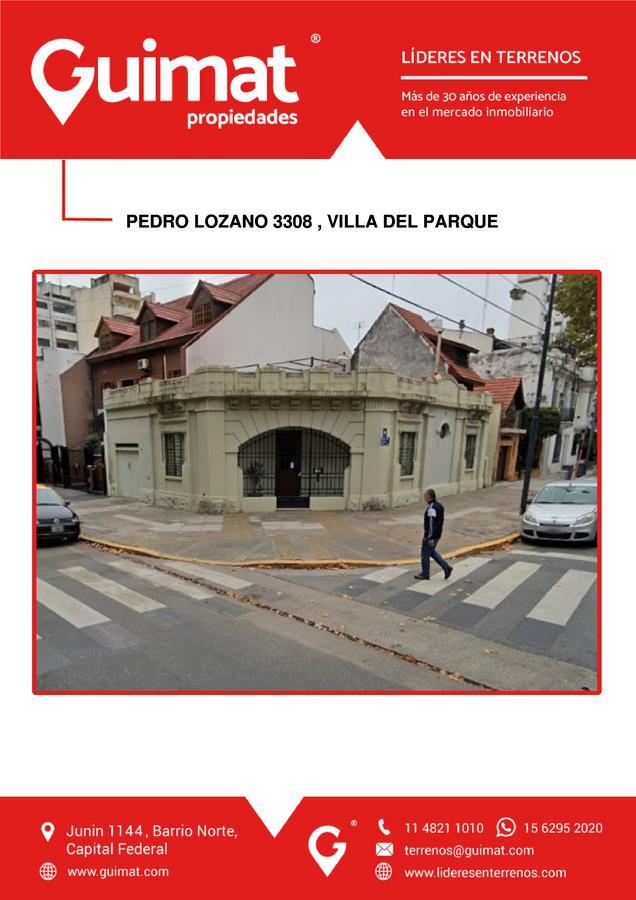 Foto Terreno en Venta en  Villa del Parque ,  Capital Federal  CAMPANA 3096
