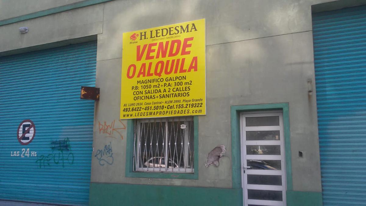 Foto Galpón en Venta | Alquiler en  Puerto,  Mar Del Plata  CERRITO 100