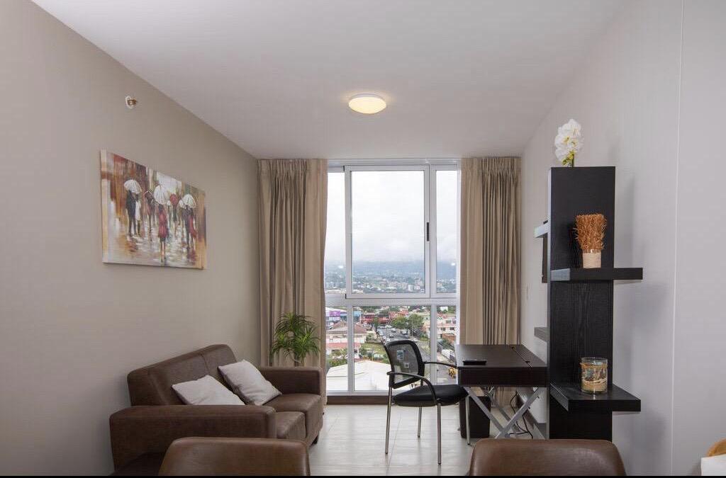 Foto Departamento en Renta en  Mata Redonda,  San José  Nunciatura/ Apartamento de 1 habitación/ Amueblado y Equipado/ No mascotas