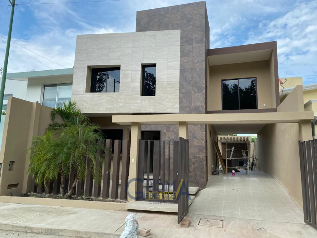 Foto Casa en Renta en  Jardines de Tuxpan,  Tuxpan  CASA NUEVA EN RENTA EN COL. JARDINES
