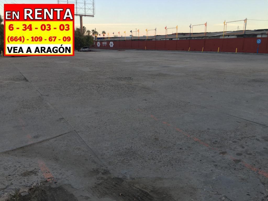 Foto Terreno en Renta en  Tijuana ,  Baja California Norte  RENTAMOS PRECIOSO TERRENO 2,000 MTS2 EN PERIFÉRICO, TOTALMENTE COMERCIAL