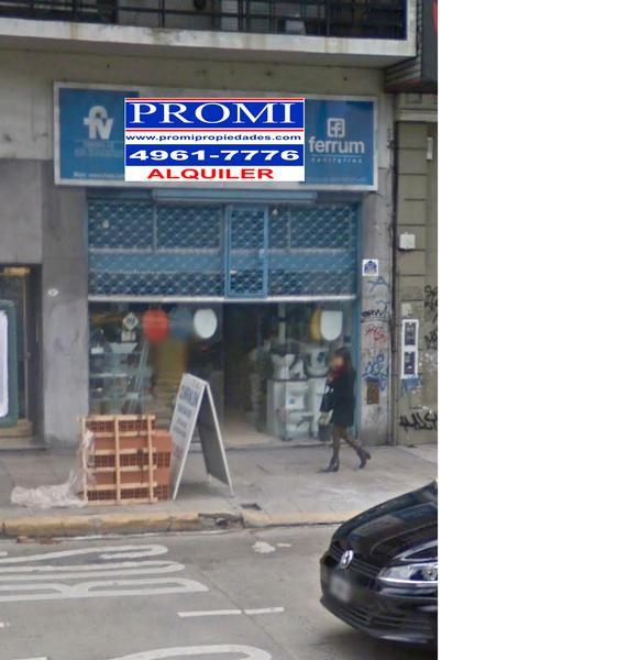 Foto Local en Alquiler en  Palermo ,  Capital Federal  AV. CORDOBA al 3100