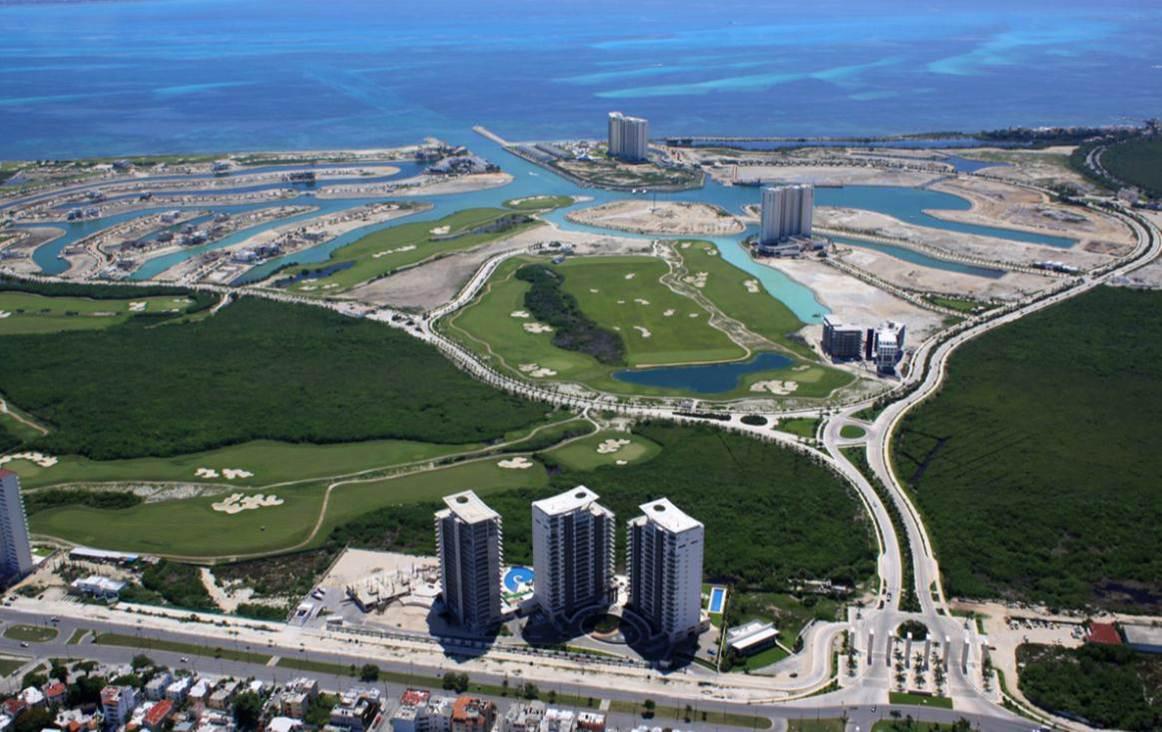 Foto Terreno en Venta en  Puerto Cancún,  Cancún  PUERTO CANCUN, Terreno en Venta La Laguna II 194.72 m2. Cancún, Quintana, Roo