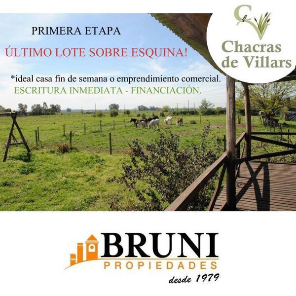 Foto Terreno en Venta en  Villars,  General Las Heras  Chacras de Villars 1