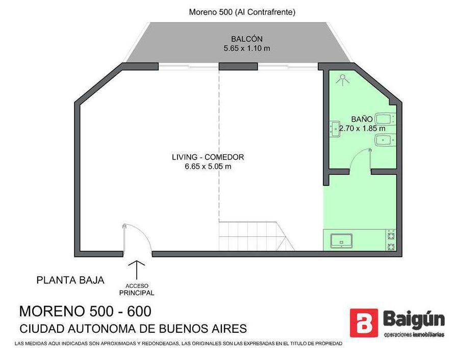 Foto Departamento en Venta en  Monserrat,  Centro  moreno al 500