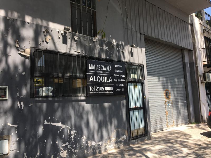 Foto Depósito en Alquiler en  Chacarita ,  Capital Federal  Iturri al 1500