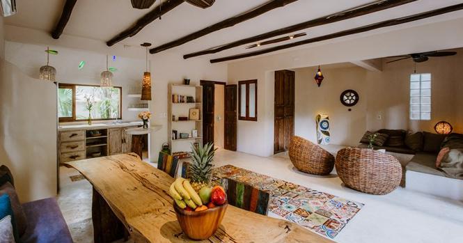 Foto Casa en Renta temporal en  Tulum Centro,  Tulum          Casa en renta vacacional Tulum zona hotelera