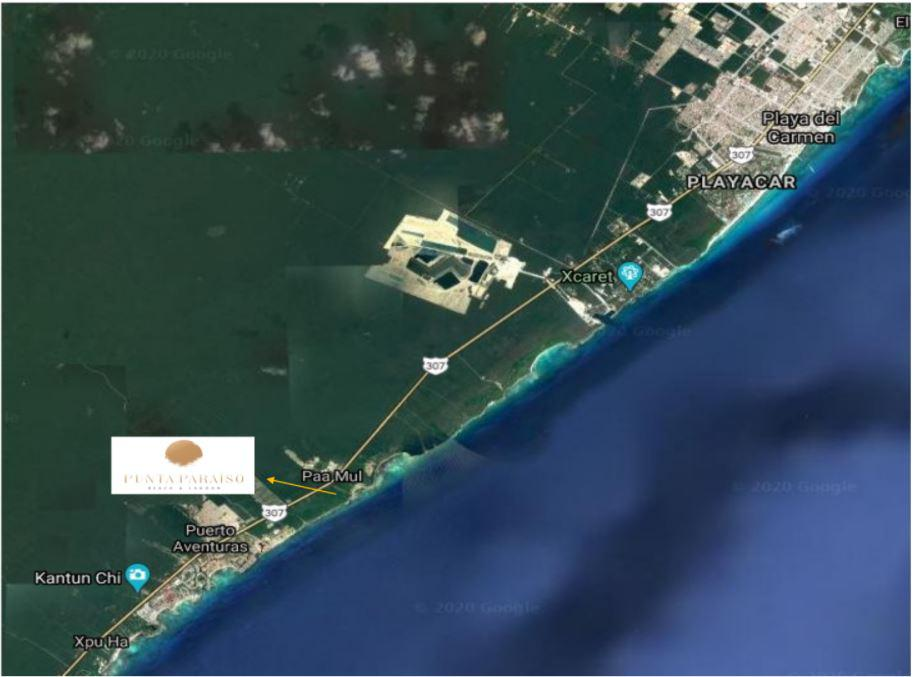 Foto Terreno en Venta en  Solidaridad ,  Quintana Roo  TERRENO FRENTE AL MAR PAAMUL PLAYA DEL CARMEN