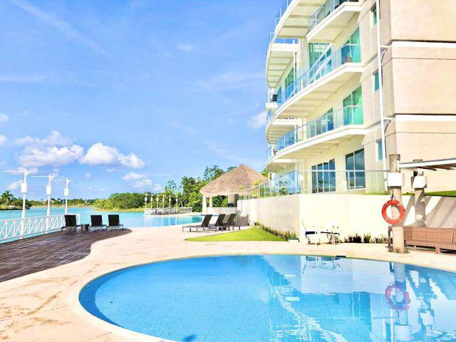 Foto Departamento en Renta en  Lagos del Sol,  Cancún  marina turqueza lagos del sol
