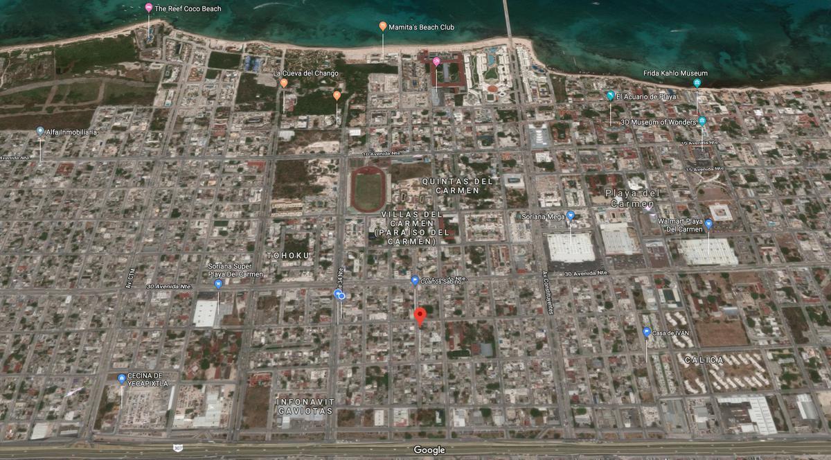 Foto Departamento en Venta en  Playa del Carmen Centro,  Solidaridad  DE 1 RECAMARA - AMPLIO CON AMENIDADES