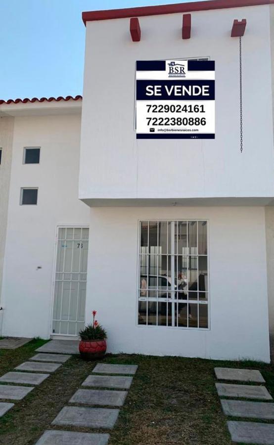Foto Casa en condominio en Venta en  San Antonio la Isla,  San Antonio la Isla  Casa en Venta 2 Recamaras, Fraccionamiento Villas del Sauce, San Antonio La Isla