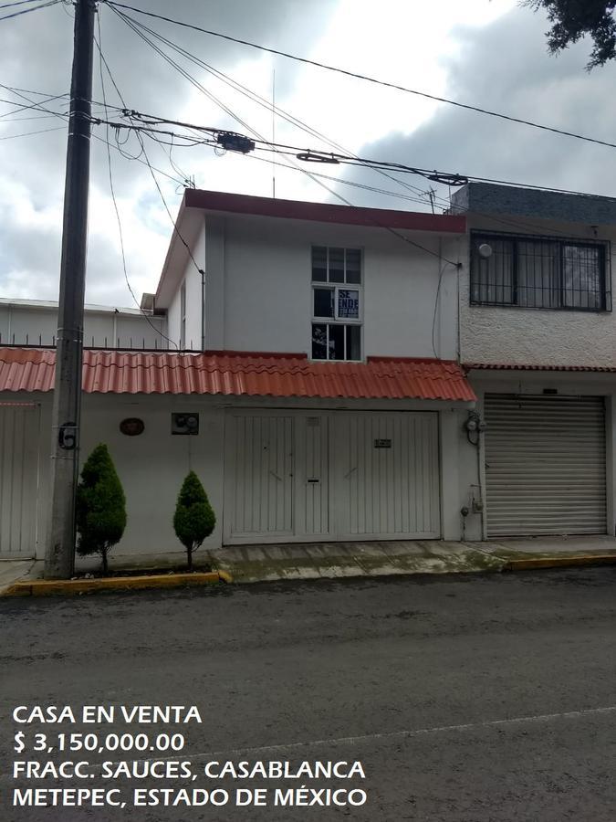 Foto Casa en Venta | Renta en  Metepec ,  Edo. de México  Casa en VENTA/RENTA Fraccionamiento Sauces, Casablanca, Metepec, Estado de México