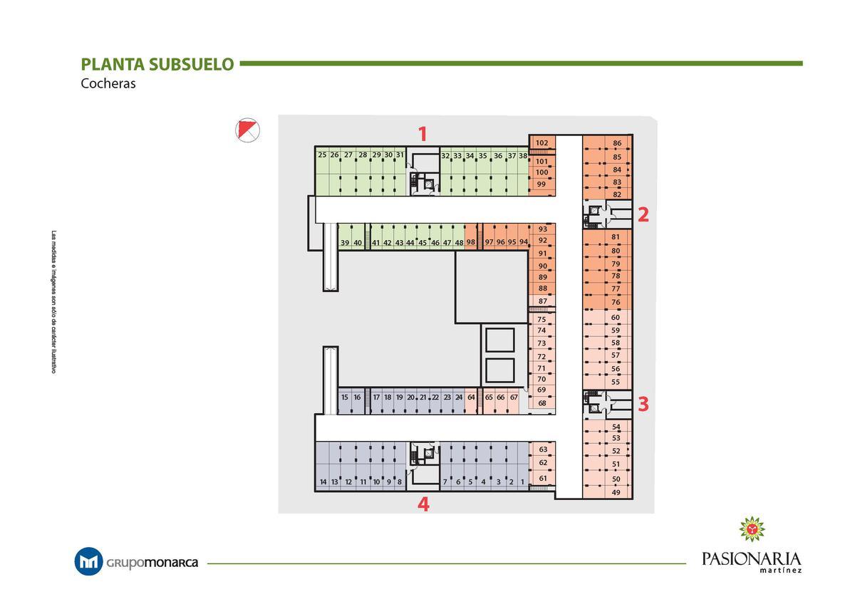 Foto Departamento en Venta en  Martinez,  San Isidro                  Lima 2101 3 1° B