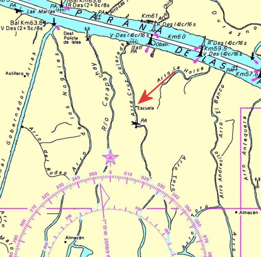 Foto Terreno en Venta en  Cruz Colorada,  Zona Delta Tigre  Cruz Colorada Lote Forestal V