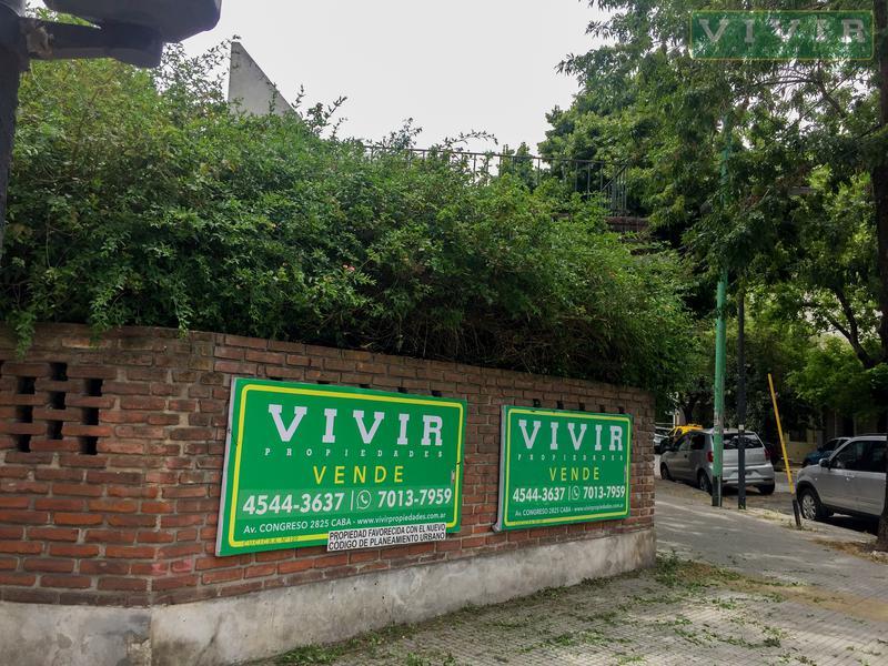 Foto Terreno en Venta en  Nuñez ,  Capital Federal  Vidal al 2900 | ESQUINA | 2 LOTES | CM