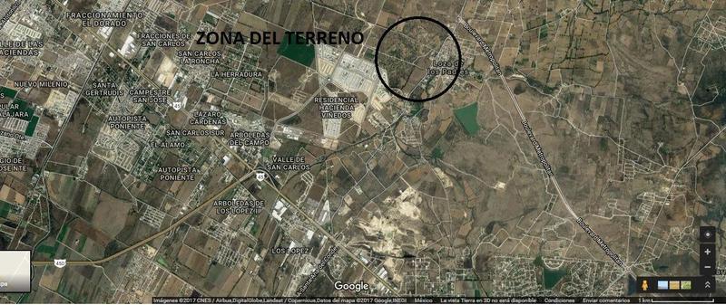 Foto Terreno en Venta en  Granja Loza de los Padres,  León  Terreno en VENTA de 77 hectáreas con uso mixto colinda con Héroes de León