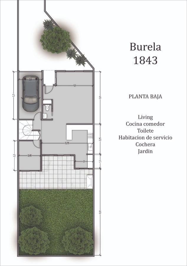 Foto PH en Venta en  Villa Urquiza ,  Capital Federal  Burela al 1800