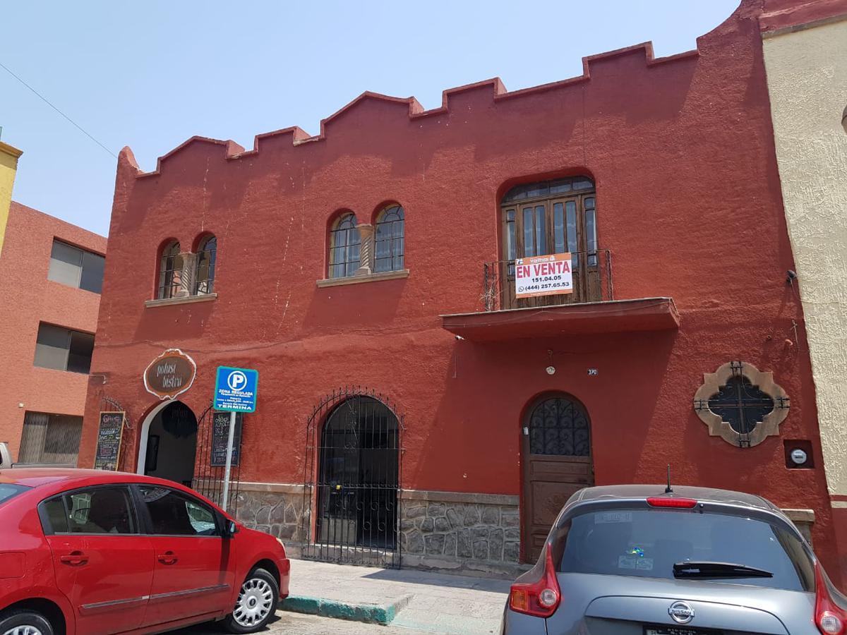Foto Casa en Renta en  Centro Sct San Luis Potosí,  San Luis Potosí  EXCELENTE CASA CON 2 LOCALES  EN ESQUINA EN EL CENTRO DE LA CAPITAL POTOSINA