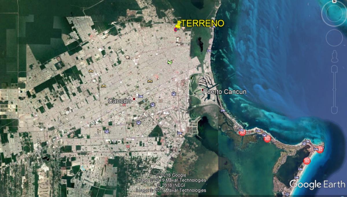 Foto Terreno en Venta en  Cancún,  Benito Juárez  Terreno frente a la UNICARIBE de Cancun