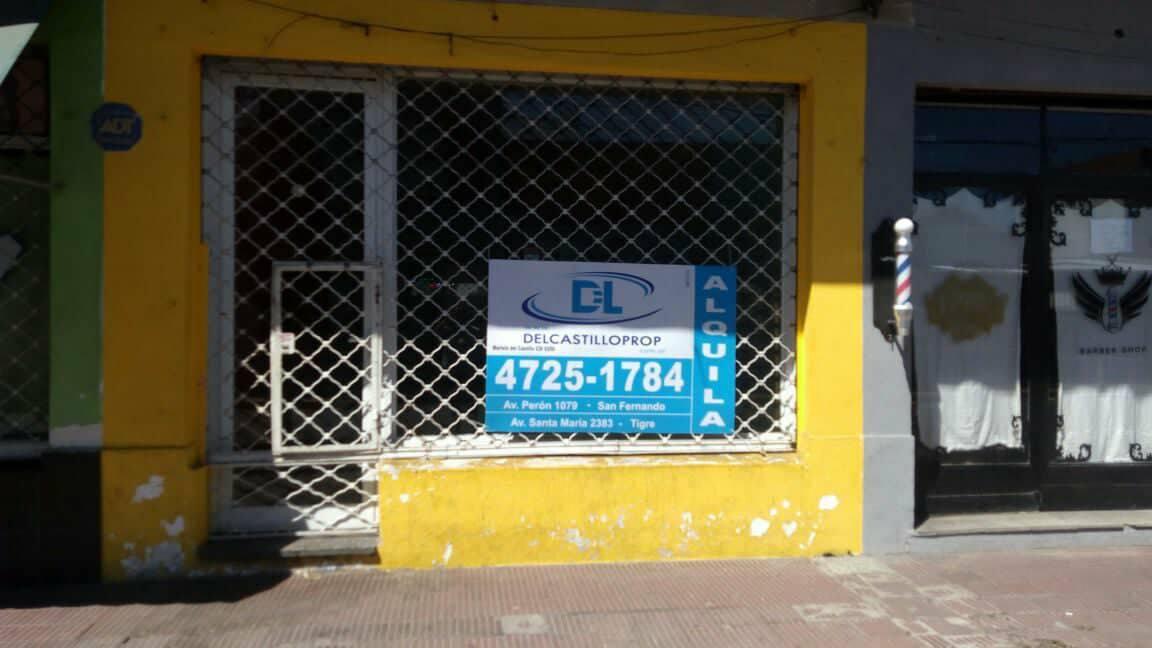 Foto Local en Alquiler en  Virr.-Estacion,  Virreyes  Besares al 2100