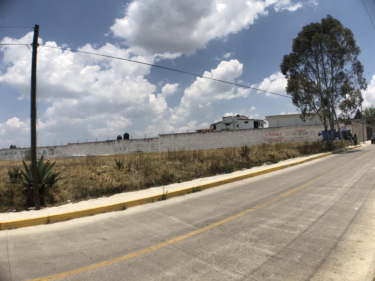 Foto Terreno en Venta en  La Cabecera,  Almoloya de Juárez  Camino Real. Almoloya de Juárez