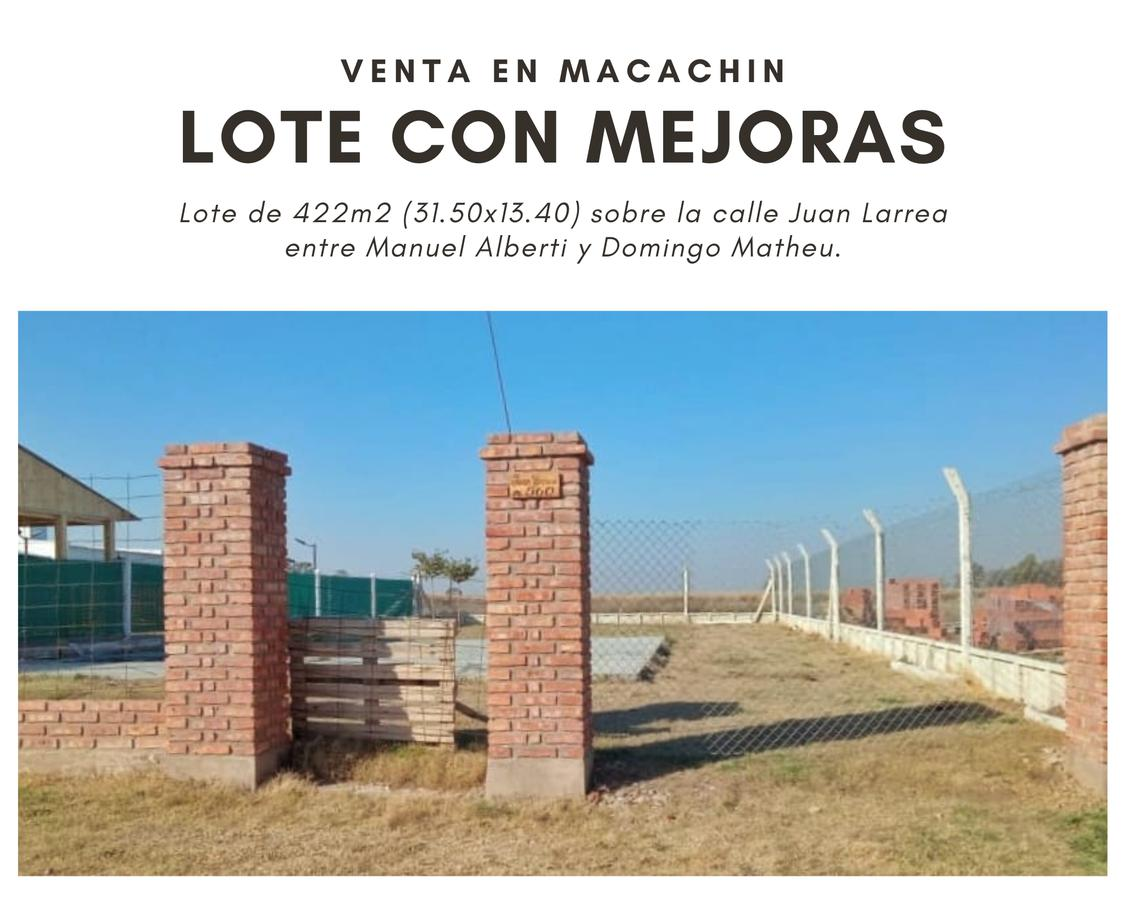 Foto Terreno en Venta en  Macachin,  Atreuco  Juan Larrea al 500