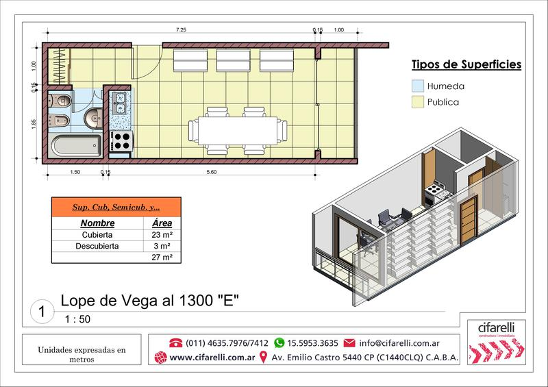 Foto Departamento en Venta en  Villa Luro ,  Capital Federal  Lope de Vega al 1300 6° C
