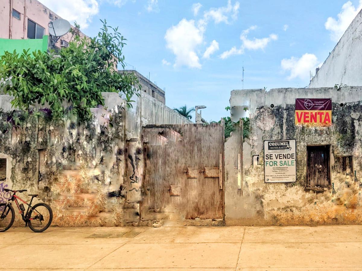 Foto Terreno en Venta en  Cozumel Centro,  Cozumel  Terreno el 5to Elemento!  Atención inversionista!!