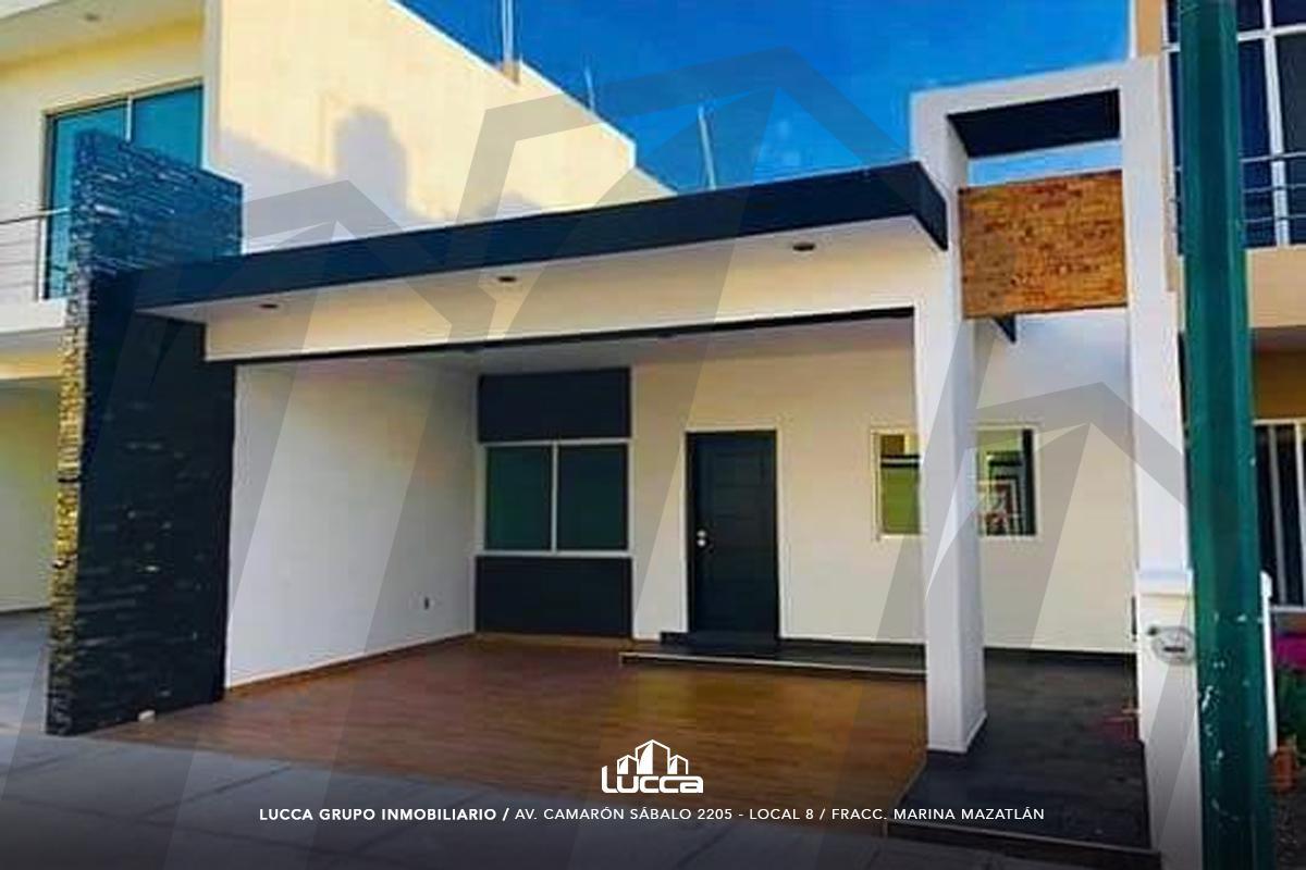 Foto Casa en Venta en  Fraccionamiento Real del Valle,  Mazatlán  CASA COTO 14, FRACC. REAL DEL VALLE