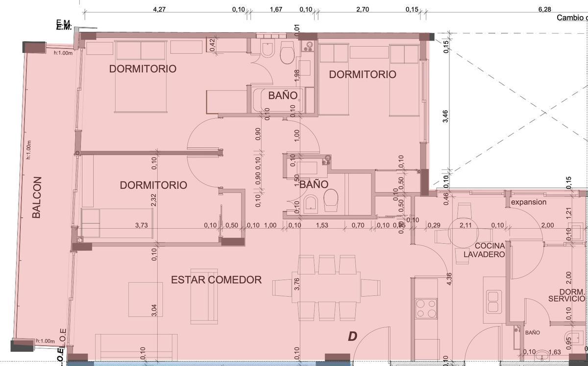 Foto Departamento en Venta en  Caballito Norte,  Caballito  Av. Gaona al 1973 - 8° D