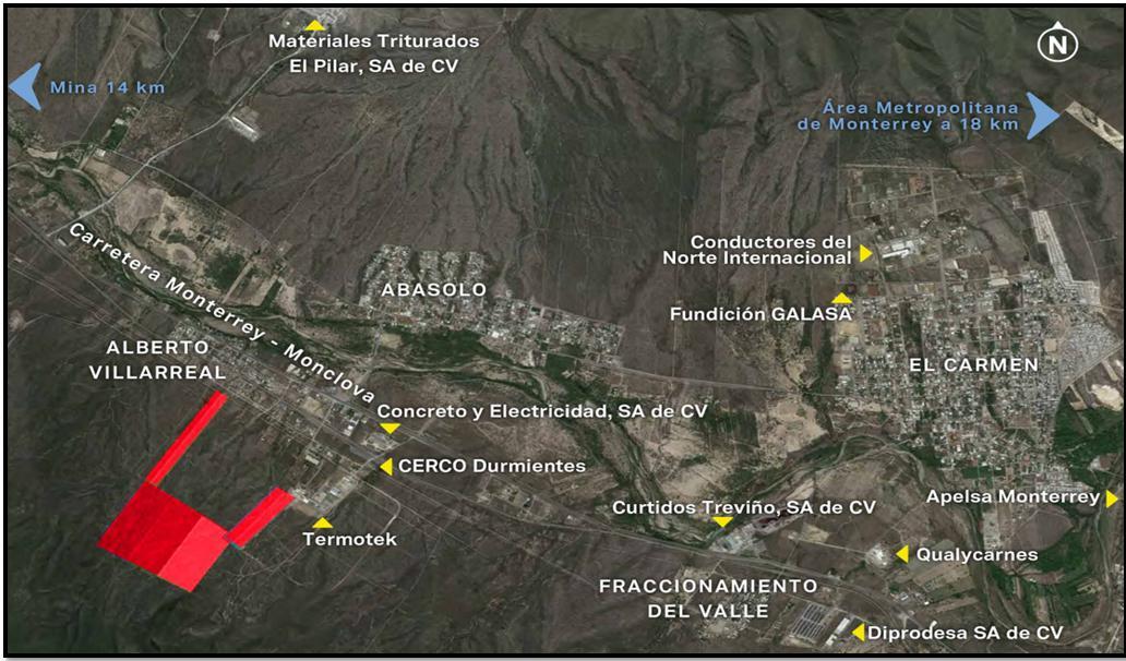 Foto Terreno en Venta en  Abasolo ,  Nuevo León  TERRENOS EN ABASOLO N.L. A 755 M  DE LA CARRETERA MONTERREY-MONCLOVA KM 19.