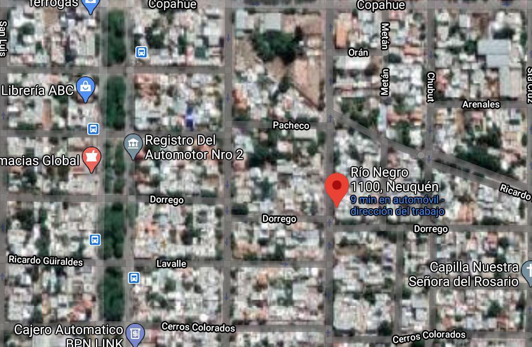 Foto Terreno en Venta en  Capital ,  Neuquen  Rio Negro al 1100