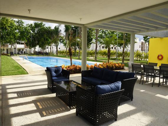 Foto Departamento en Renta en  Jardines del Sur,  Cancún  DEPARTAMENTO AMUEBLADO EN RENTA EN JARDINES DEL SUR 4