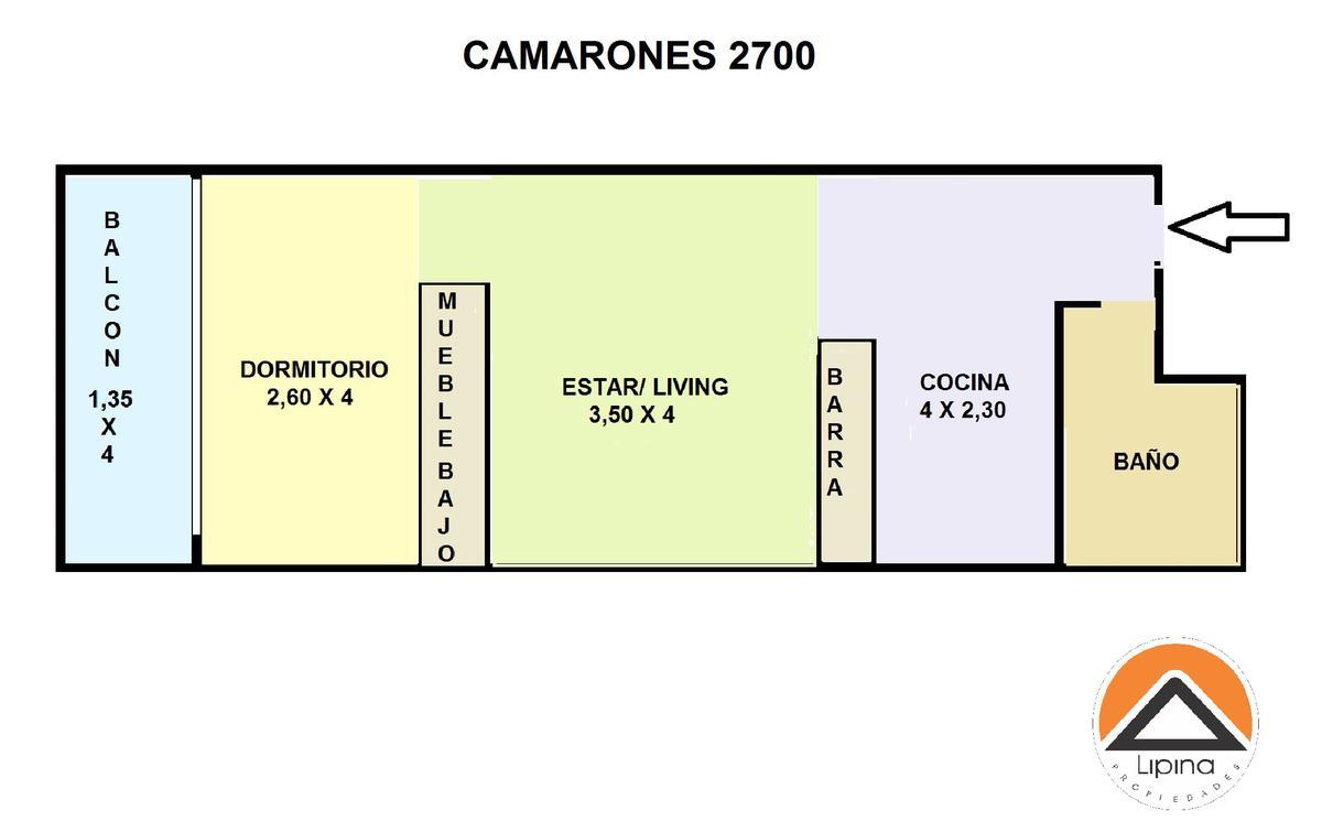 Foto Departamento en Venta en  Villa del Parque ,  Capital Federal  Camarones al 2700
