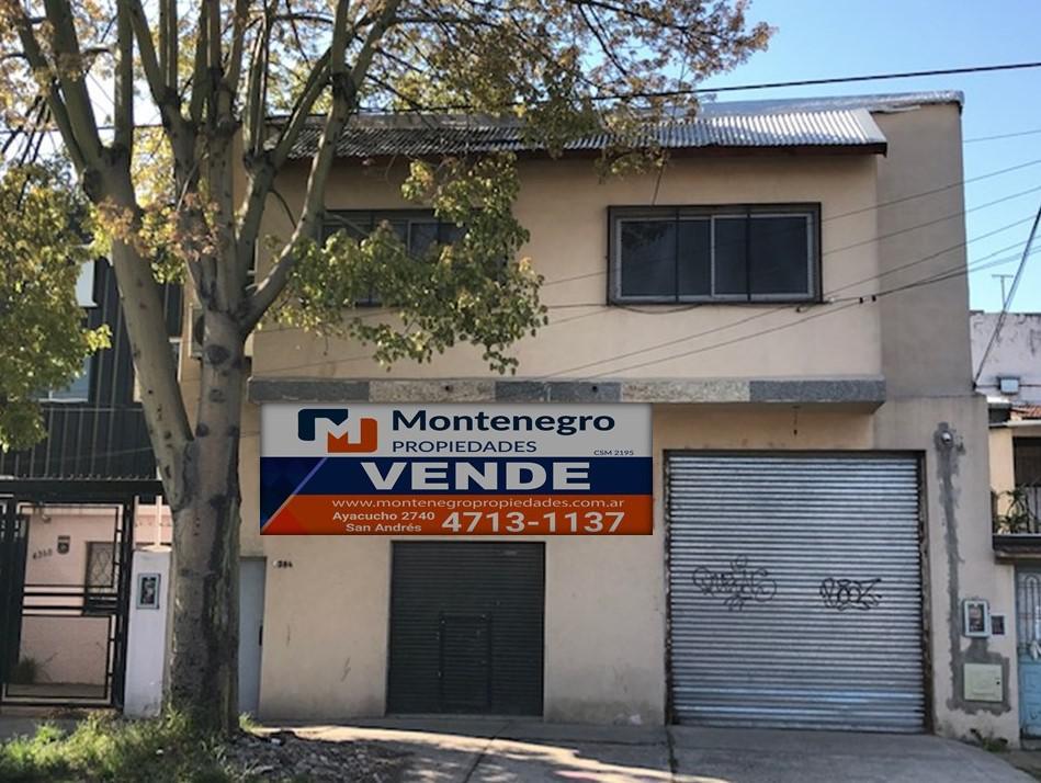 Foto Galpón en Venta en  Villa Ballester,  General San Martin  José Hernández Nº 4384