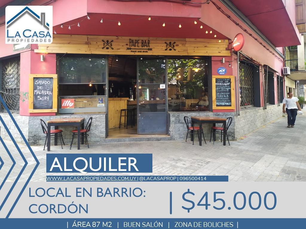 Foto Local en Alquiler en  Cordón ,  Montevideo  Rodo al 2100