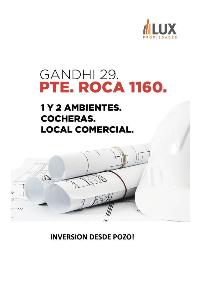Departamento un dormitorio venta edificio construcción Presidente Roca 1600 - Centro