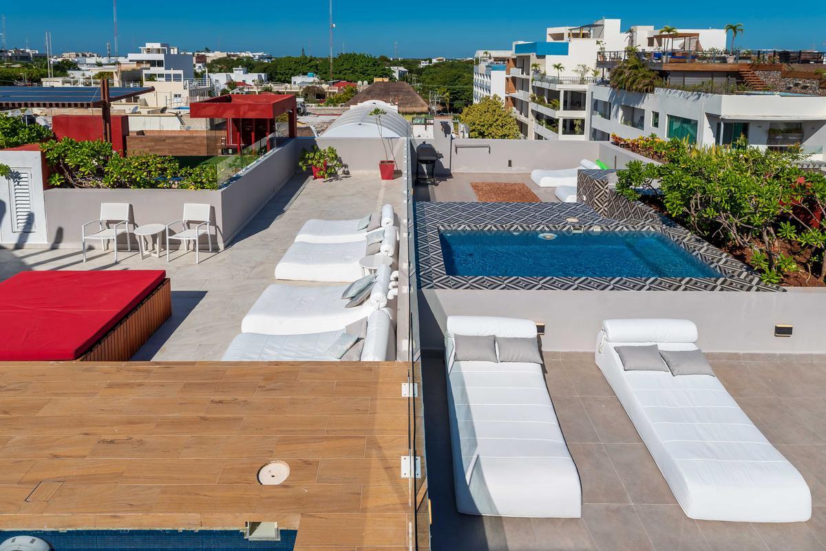 Foto Departamento en Renta en  Playa del Carmen,  Solidaridad  NOLITA 201-CALLE 24 CON ESQUINA 5AV-PLAYA DEL CARMEN