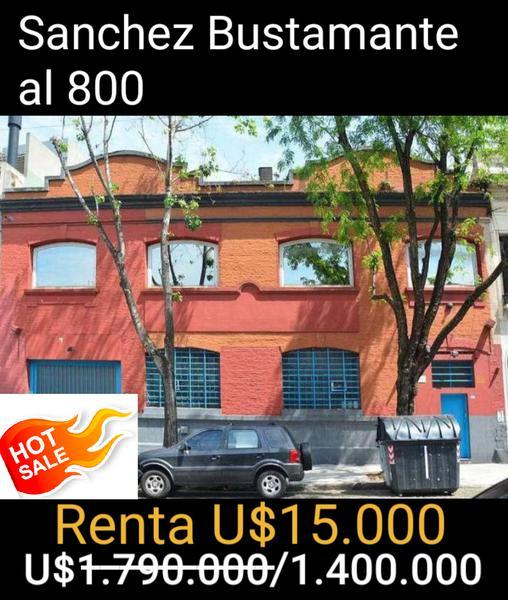 Foto Edificio Comercial en Venta en  Abasto ,  Capital Federal  Sánchez de Bustamante  al 800