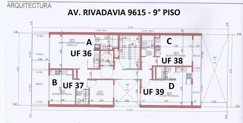Foto Departamento en Venta en  Villa Luro ,  Capital Federal  Av. Rivadavia 9615 9º C