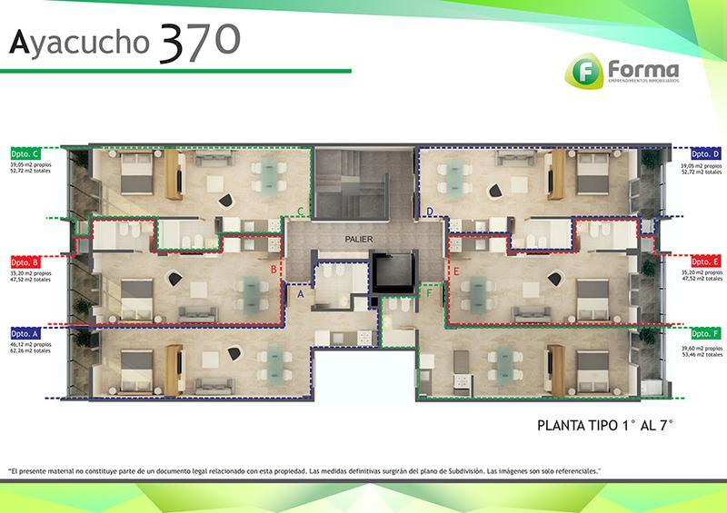 Foto Departamento en Venta en  Zona Sur,  San Miguel De Tucumán  AYACUCHO al 300