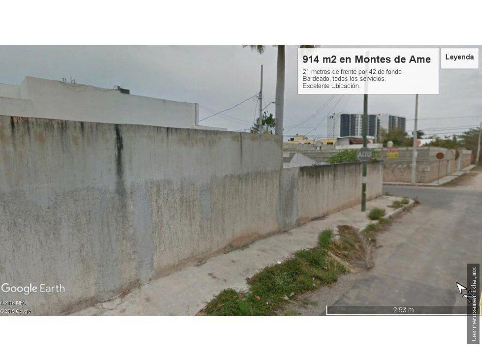 Foto Terreno en Venta en  Montes de Ame,  Mérida  Oportunidad desarrolladores Terreno bien situado al Norte de Mérida