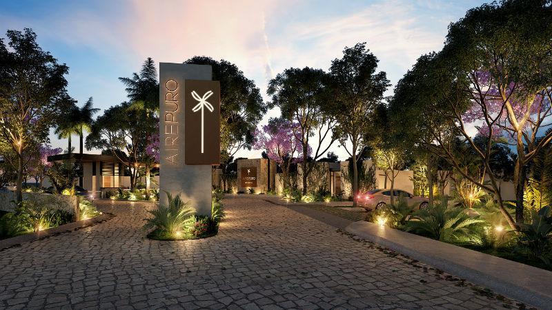 Foto Terreno en Venta en  Pueblo San Ignacio,  Progreso  AirePuro Residencial, Lotes Residenciales en Venta.