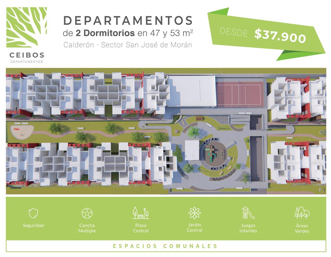 Foto Departamento en Venta en  Calderón,  Quito  DE  VENTA  DEPARTAMENTO EN NORTE DE QUITO  $37.900