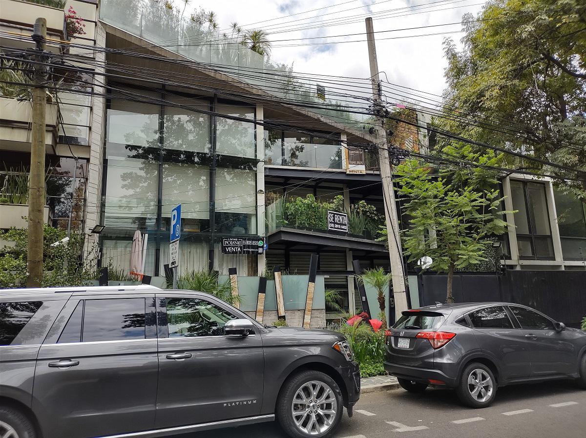 Foto Departamento en Venta en  Miguel Hidalgo ,  Distrito Federal  Galileo 119, col Polanco, Miguel Hidalgo, Ciudad de México