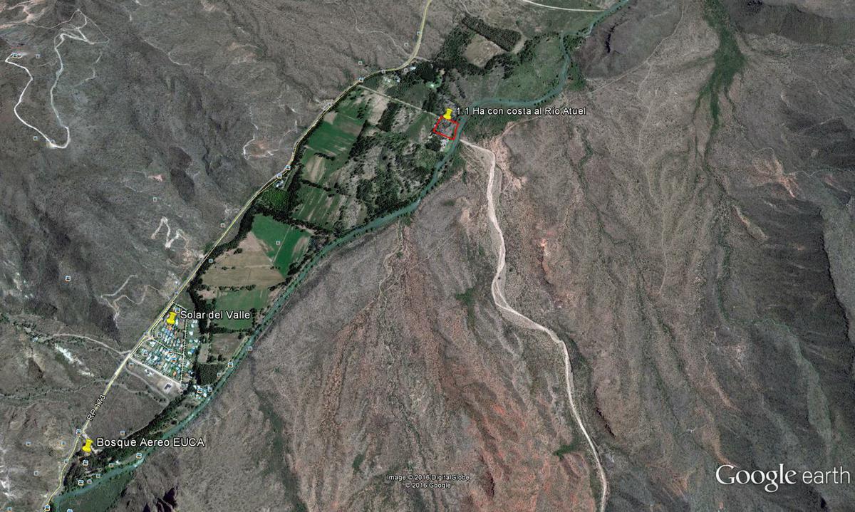 Foto Terreno en Venta en  San Rafael ,  Mendoza  Lote con costa al Río Atuel