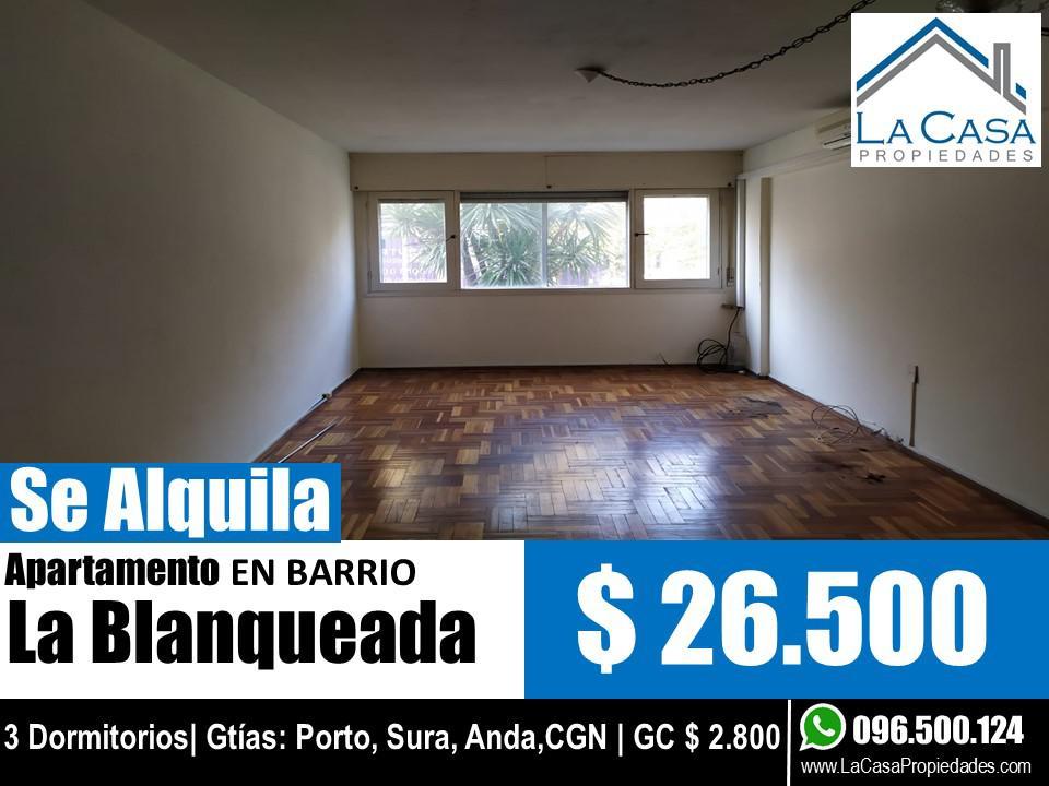 Foto Apartamento en Alquiler en  La Blanqueada ,  Montevideo  8 de Octubre al 2900