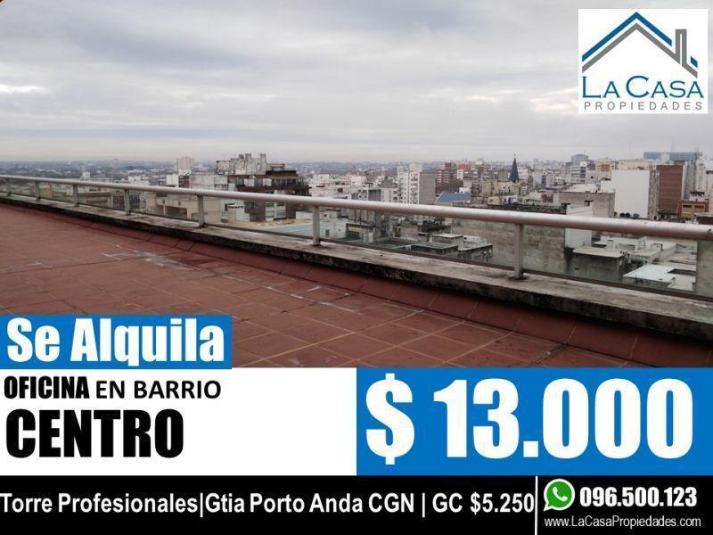 Foto Oficina en Alquiler en  Centro,  Montevideo  YAGUARON 1400