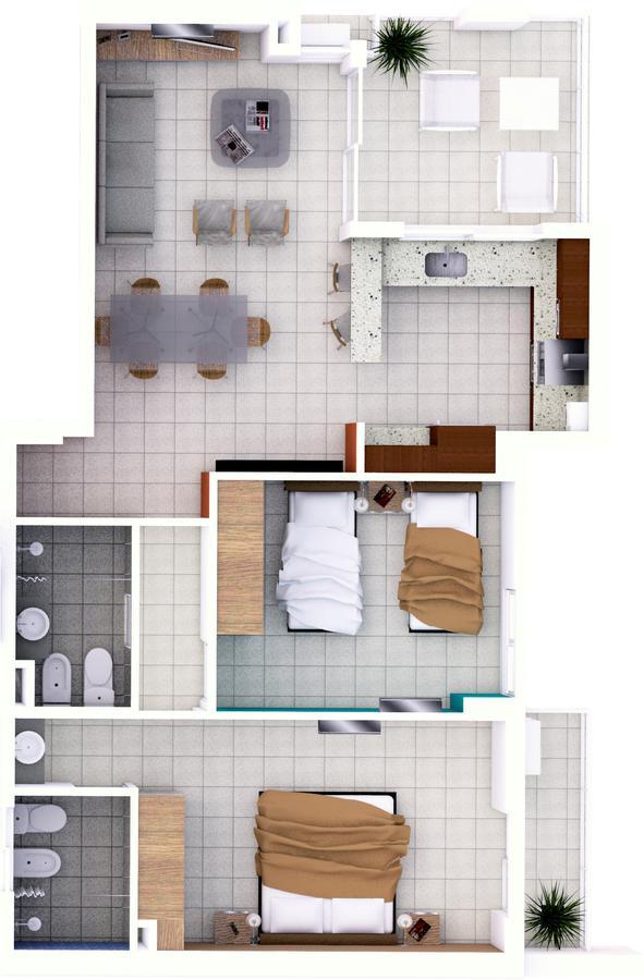 Foto Departamento en Venta en  Candioti Sur,  Santa Fe  Laprida 3337 - U 50 - 9° piso contrafrente